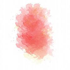 macchia-dipinta-acquerello-rosa-e-giallo
