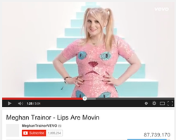 Hair for Meghan Trainor