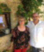 Marie-Françoise et Christian Leymarie