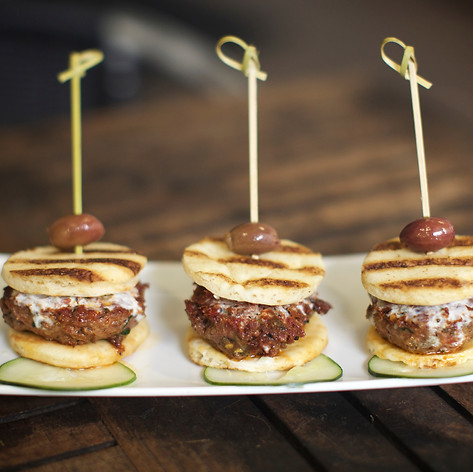 Spicy Lamb Sliders