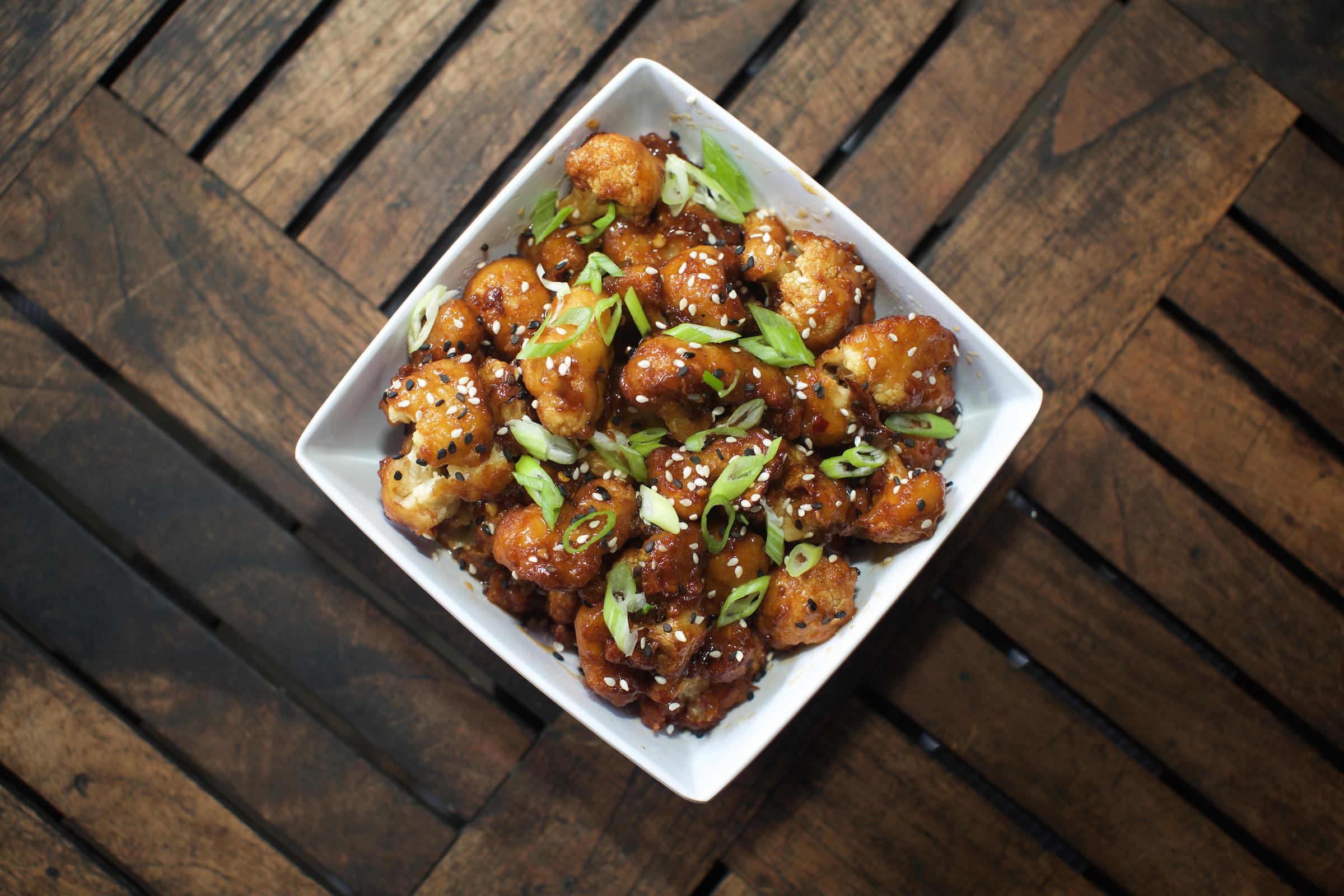 Gen Tso's Cauliflower