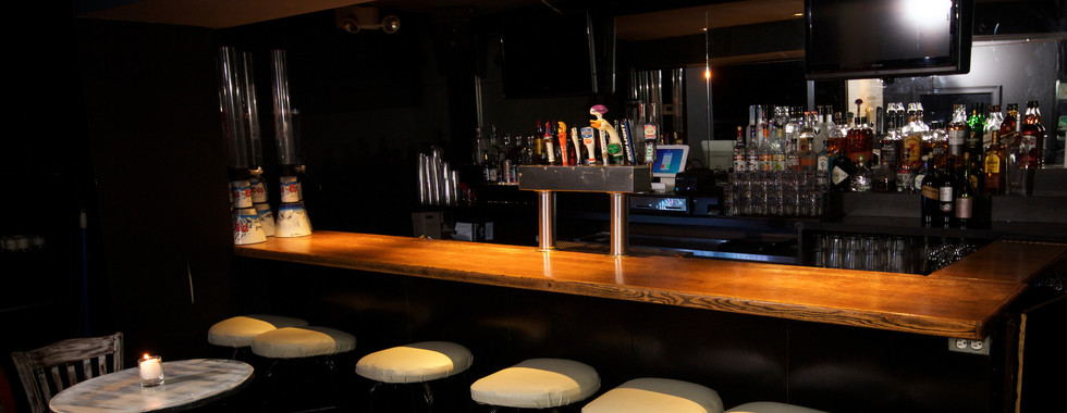 Private bar area in Private Loft