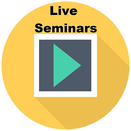 Live Seminars Membership