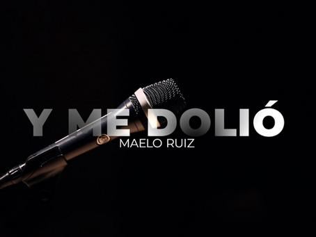 """Maelo Ruiz con su nueva sencillo """"Y me dolio"""""""