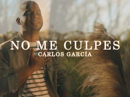 """Carlos García nos cautiva una vez más con su nuevo sencillo, """"No me culpes"""""""