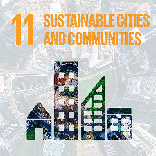 SDG 11: SUSTAINABLE CITIES & COMMUNITIES