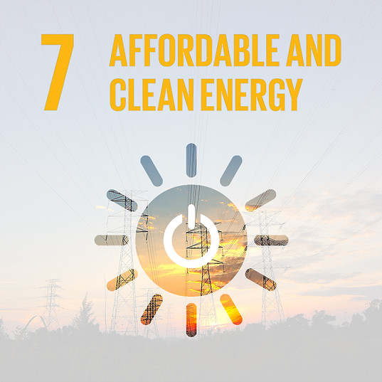 SDG 7: AFFORDABLE & CLEAN ENERGY