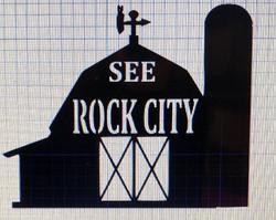SEE ROCK CITY BARN IN PROGRESS