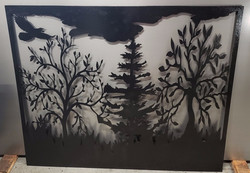 52 X 42 PANEL PAINTED