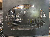 Moose Side Panel for Fire Pit