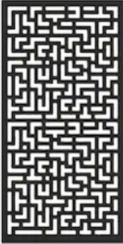 Privacy Panel Maze