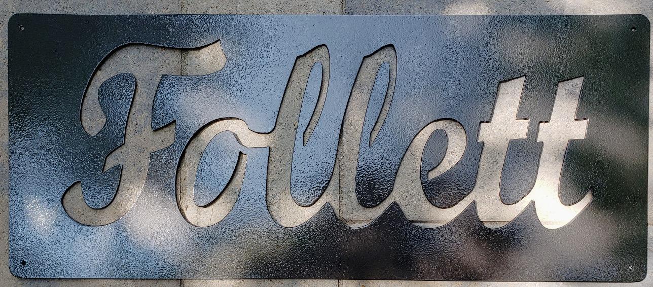 Custom Name Sign