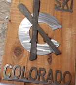 SKI COLORADO RAW METAL