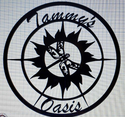 "Tammy's Oasis 36"" diameter"