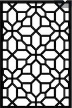 Privacy Panel Geometric