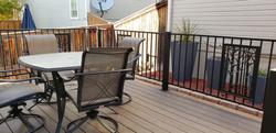 Deck Railing with Aspen Panel