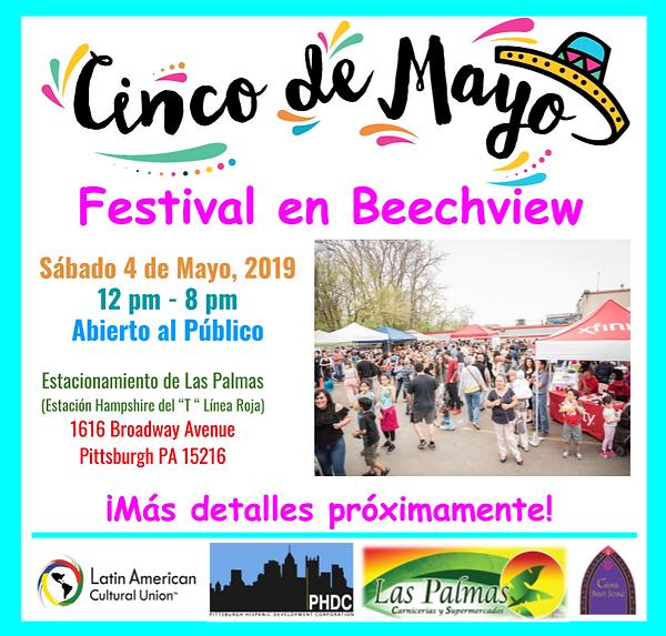 PreFlyer Cinco de Mayo Festival en Beech