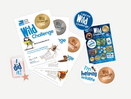 CHALLENGE: Do the RSPB Wild Challenge