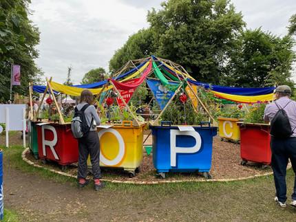 A wonderful week at Hampton Court