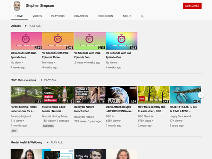 Did you know we have a YouTube Channel?