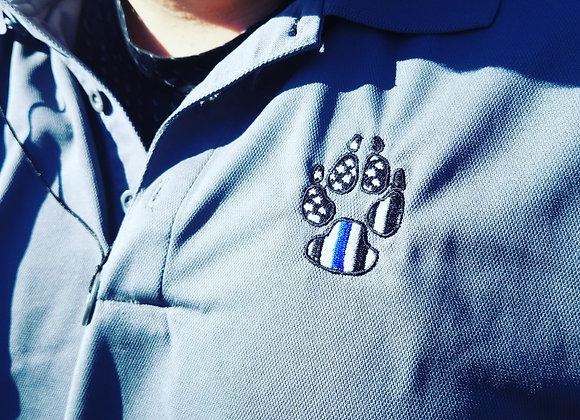 Bark The Blue Mens Polo
