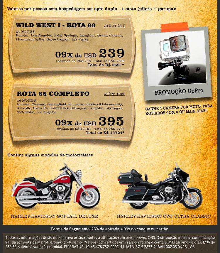 Tour de motos