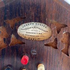 Joseph Scates Concertina - Dublin