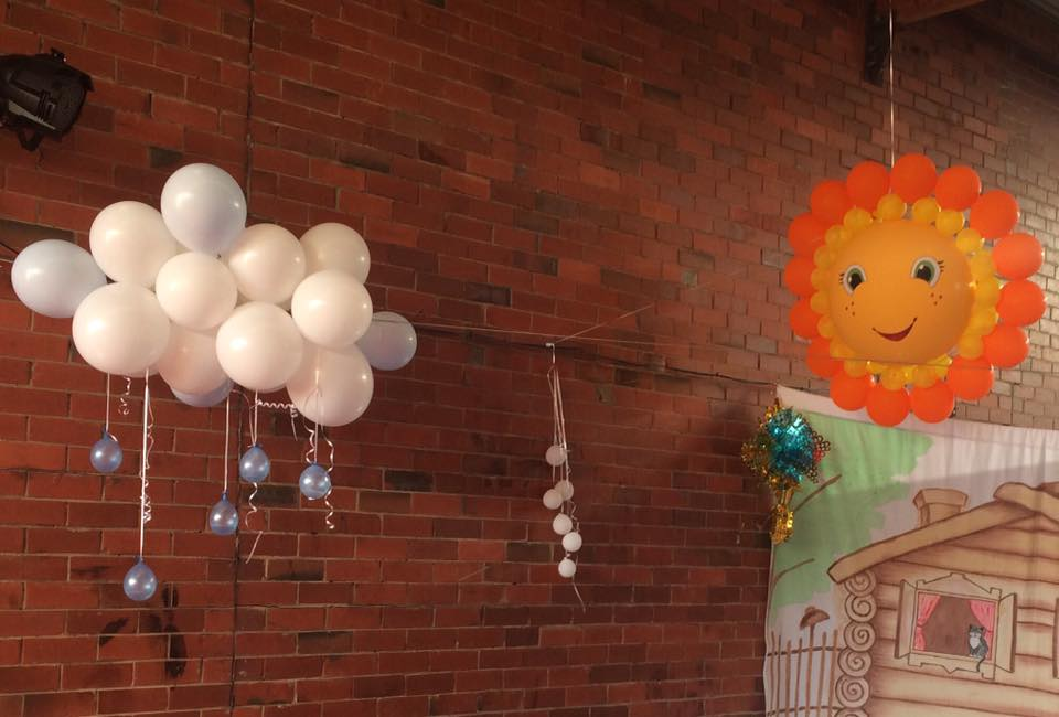 balloon-figures-sun-and-cloud