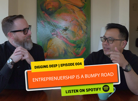 The bumpy road of entrepreneurship with Phantom Couriers and Mark Huggan