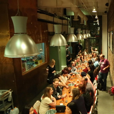 Long table shot in Vancouver