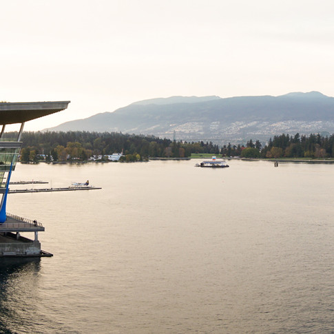 Panoramic of Vancouver Convention Center