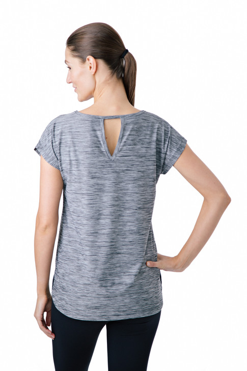 Ladies active wear catalog product photo on seamless