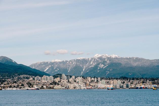 Beautiful Vancouver landscape fall photograph by Scott Johnson of Three Sixty Media