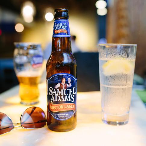 Lifestyle photo of Sam Adams Beer