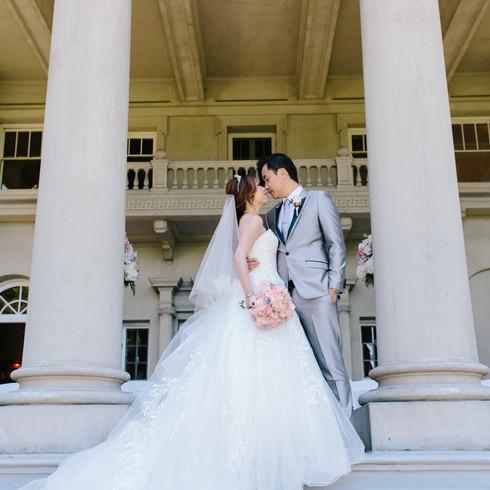 Bridal Portrait Hycroft Mansion