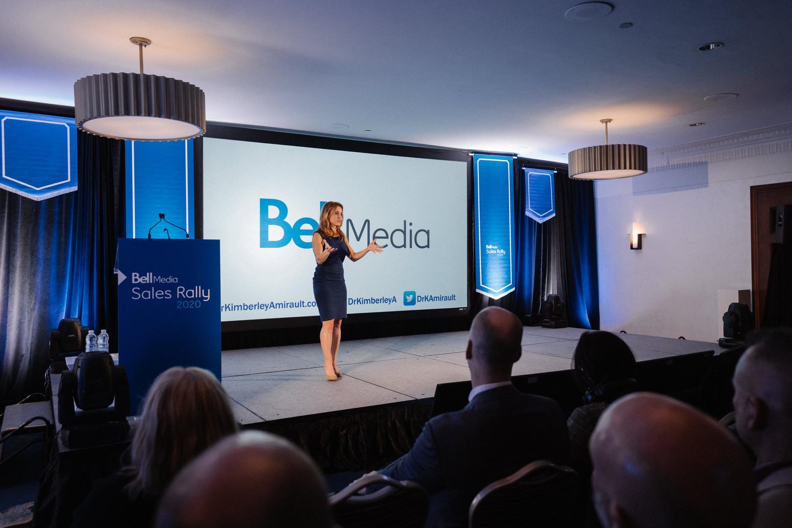 Bell Media Sales Rally