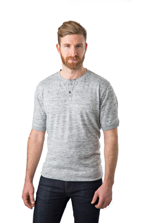 Mens activewear on seamless white