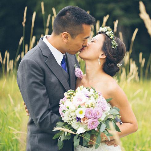 Grouse Mountain Bridal Portrait