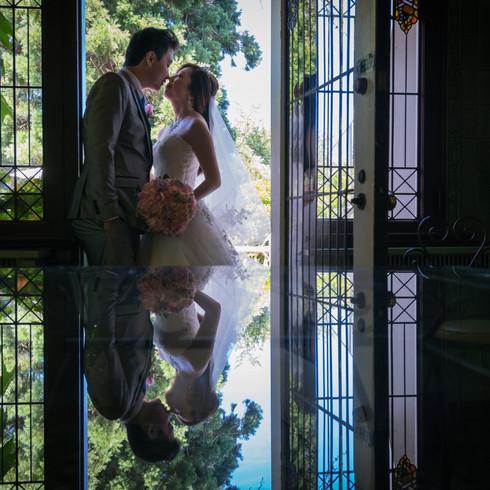 Hycroft Mansion Bridal Portrait