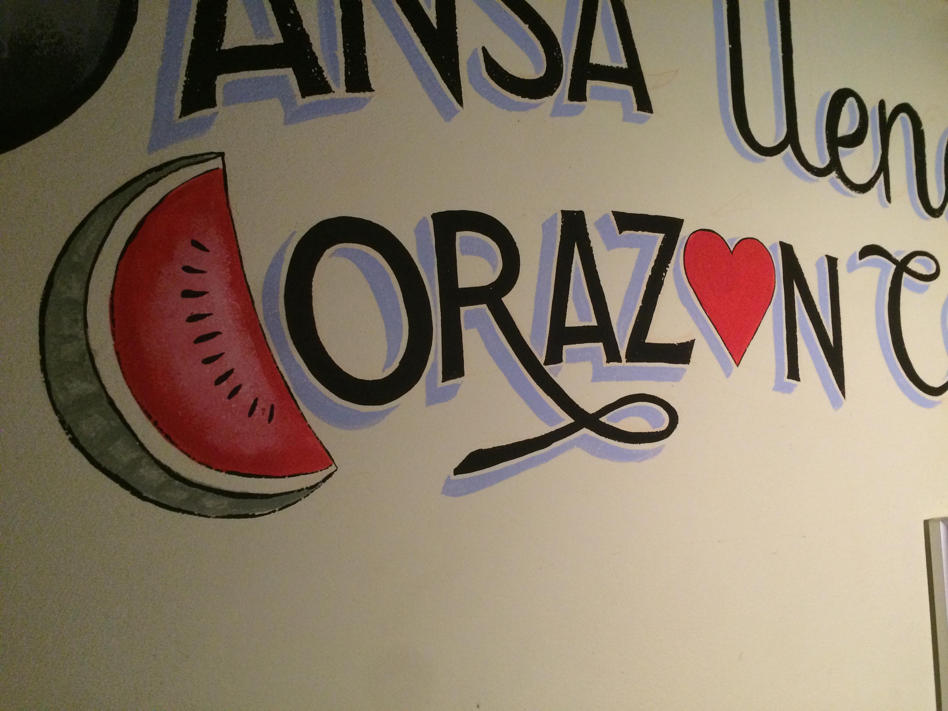 Corazon Contento (Detail)