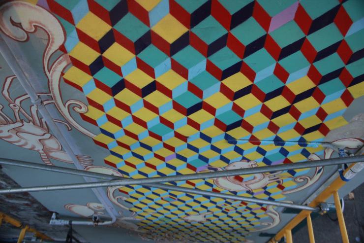 Cube Mural