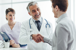 doctor and patient-shutterstock_39090217