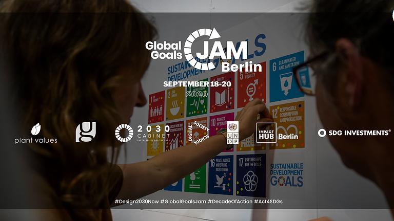 Global Goals Jam Berlin 2020