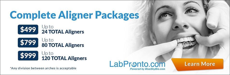labpronto order complete dental aligners package