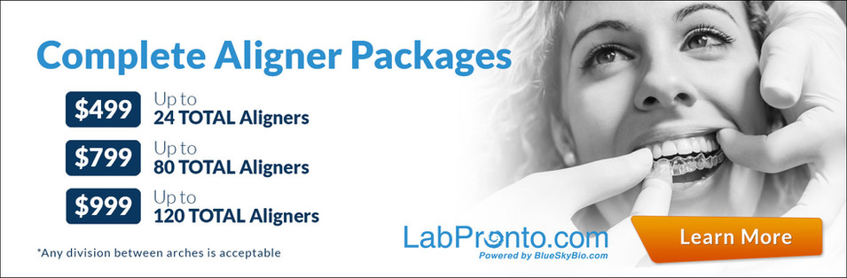 labpronto order complete dental aligners package