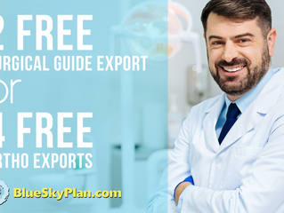 Your First Cases On Us! Free Exports When Installing Blue Sky Plan!