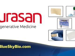 Shop Curasan's regenerative products at Blue Sky Bio