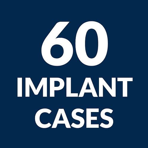 60 Implant Case