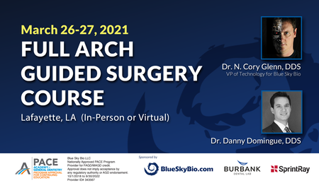 Full Arch Guided Surgery Course
