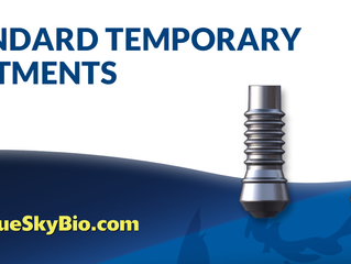 BlueSkyBio Video   Standard Temporary Abutments In Action